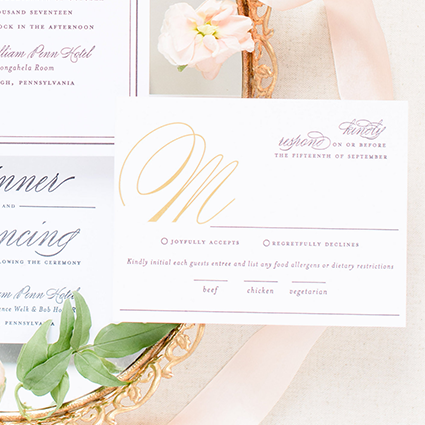 Foil Stamping | Blush Paper Co.